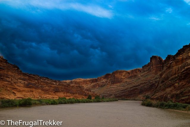 Storms over the Colorado River